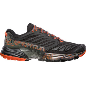 La Sportiva M's Akasha Shoes Black/Tangerine
